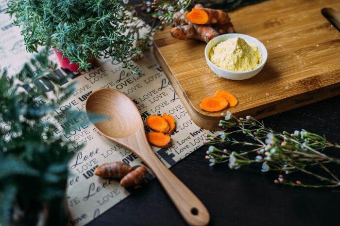 Ендометриоза - чай от джинджифил с куркума