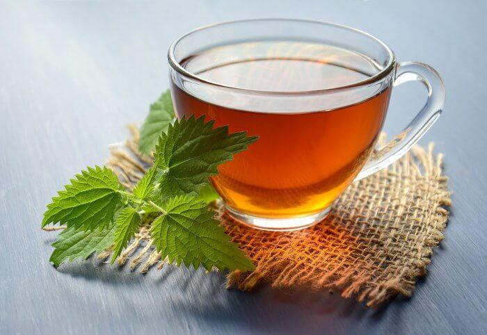 Ендометриоза - чай от мента при подут корем