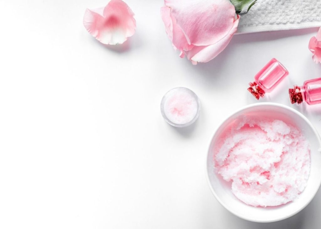 DIY rose whipped body butter