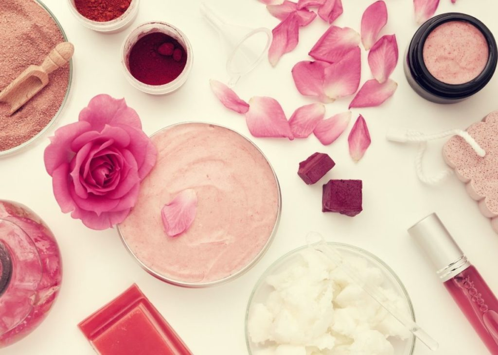 rose clay body butter
