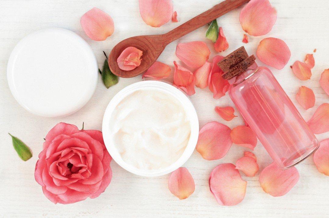 домашно масло за тяло с кокос и роза