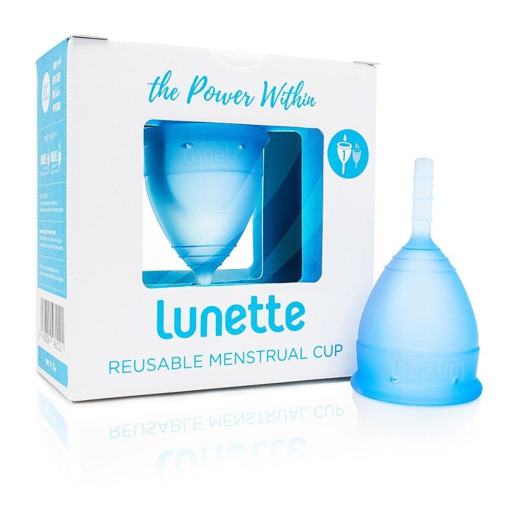 zero waste period - lunette menstrual cup