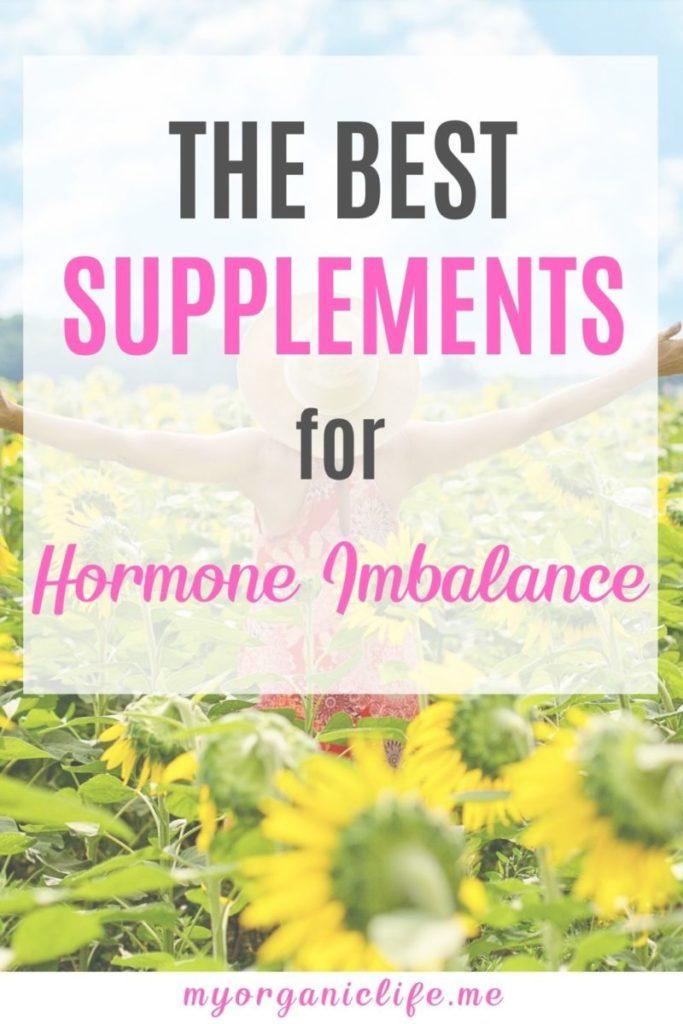 supplements to balance hormones