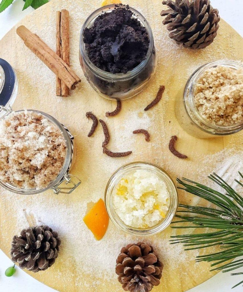 DIY Christmas Body Scrub Recipes for Gift Giving