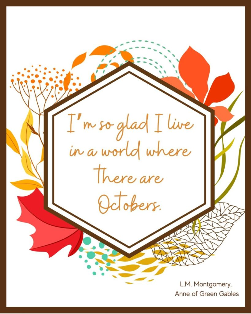 Anne of Green Gables 1 Free Printable