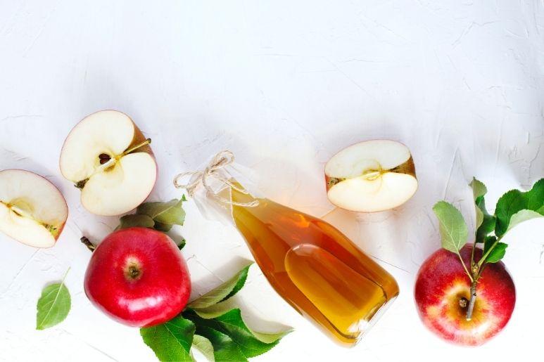 ябълков оцет срещу тъмни петна по кожата