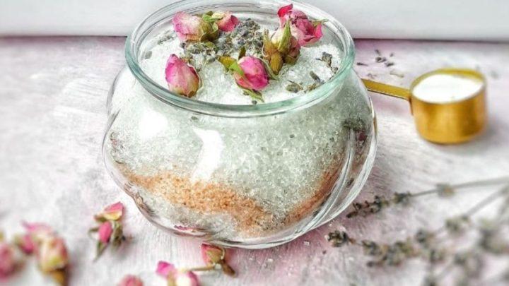 How do you moisturize bath salts