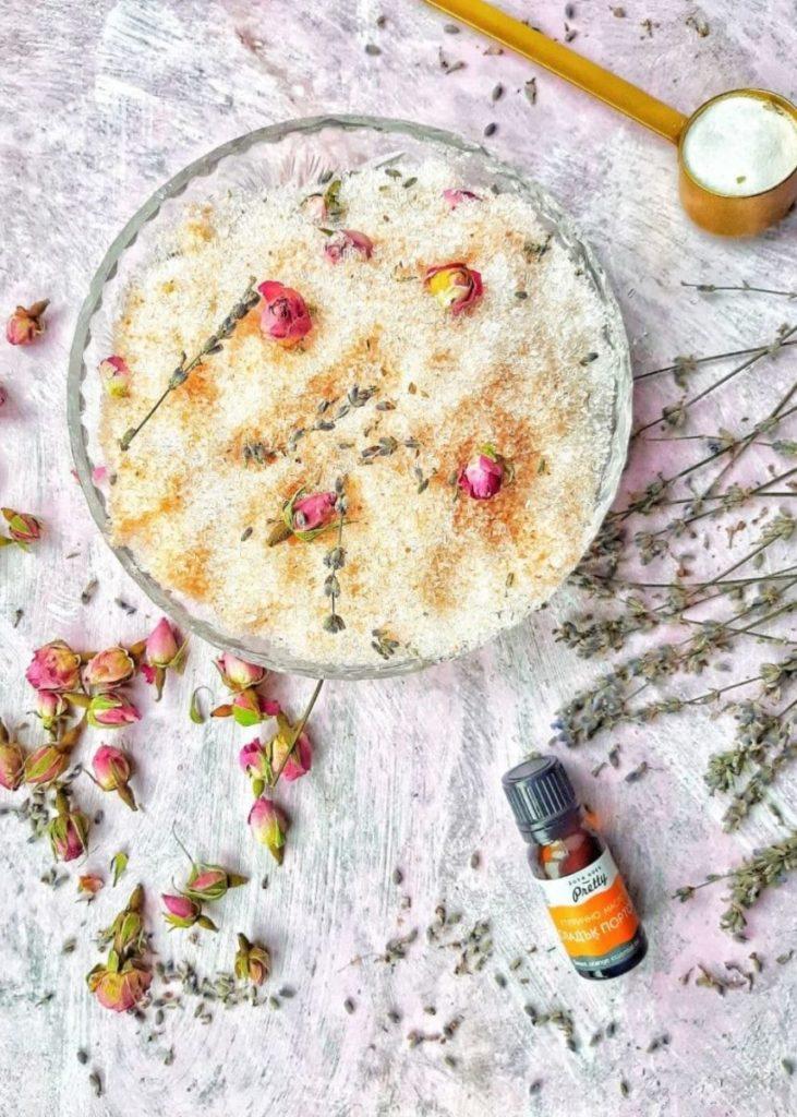How to make epsom salt bath with essential oils